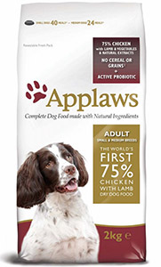 Cheap Applaws Small/Medium Breed Adult Dog Chicken & Lamb 2kg