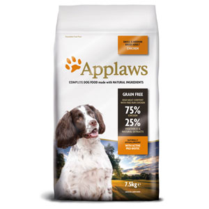 Cheap Applaws Small/Medium Breed Adult Dog Chicken 7.5kg