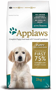 Cheap Applaws Small/Medium Breed Puppy Chicken 2kg