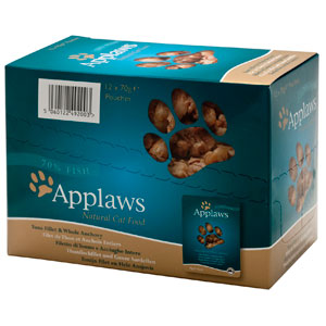 Cheap Applaws Tuna with Anchovy Pouch 12 x 70g