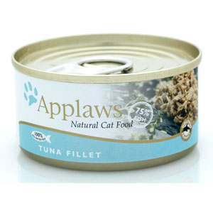 Cheap Applaws Tuna Fillet Tin 24 x 70g