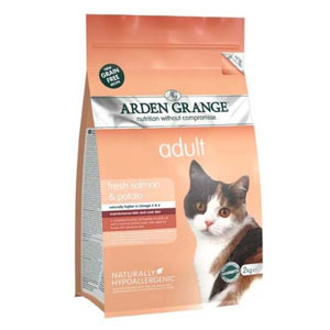Cheap Arden Grange Adult Cat Salmon & Potato 4kg
