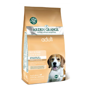 Cheap Arden Grange Adult Pork & Rice 12kg