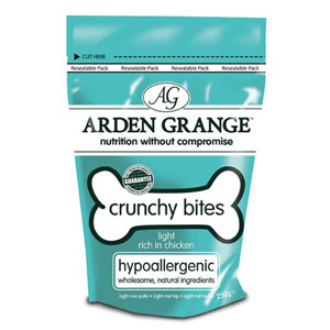 Cheap Arden Grange Crunchy Bites Light Chicken 250g