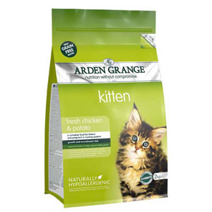 Cheap Arden Grange Kitten Chicken & Potato 400g