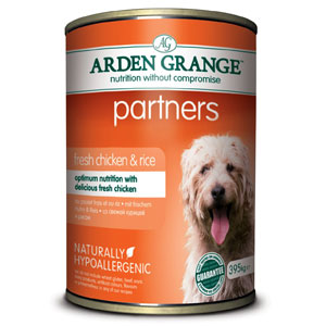 Cheap Arden Grange Partners Chicken, Rice & Vegetables 24 x 395g