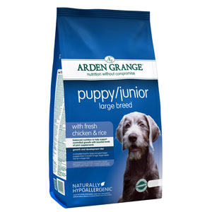 Cheap Arden Grange Puppy/Junior Large Breed Chicken & Rice 2kg