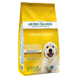 Cheap Arden Grange Weaning/Puppy Chicken & Rice 2kg