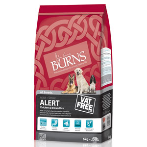Burns Alert Dog Food Kg