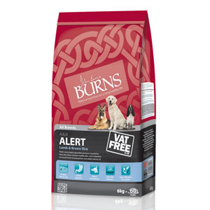 Cheap Burns Adult & Senior Alert Lamb & Brown Rice 2kg
