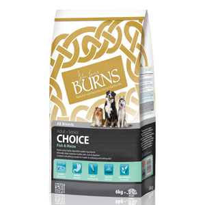 Cheap Burns Adult & Senior Choice Fish & Maize 6kg