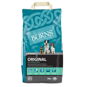Cheap Burns Adult & Senior Dog Original Fish & Brown Rice 7.5kg