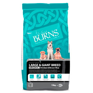 Cheap Burns Adult & Senior Large & Giant Breed Original Chicken & Rice 2kg