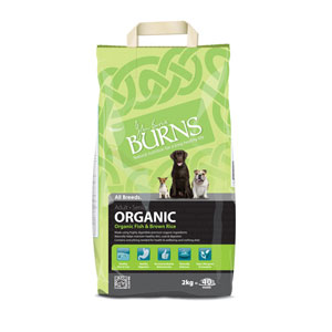 Cheap Burns Adult & Senior Organic Fish & Brown Rice 2kg