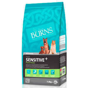 Cheap Burns Adult & Senior Sensitive+ Pork & Potato 2kg