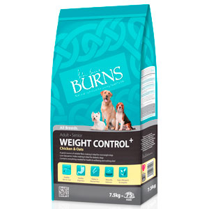 Cheap Burns Adult & Senior Weight Control+ Chicken & Oats 2kg