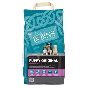 Cheap Burns Puppy Original Chicken & Rice 12kg