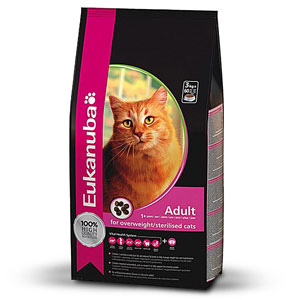 Cheap Eukanuba Adult Cat Overweight/Sterilised Weight Control 10kg