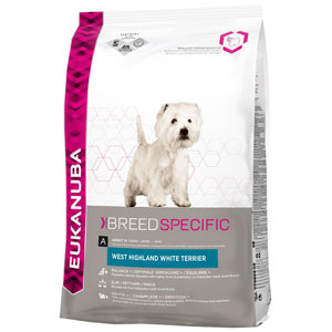 Cheap Eukanuba Adult West Highland White Terrier 2.5kg