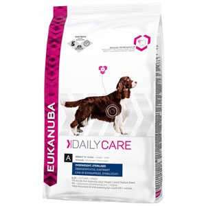 Cheap Eukanuba Daily Care Adult Dog Overweight Sterilised 2.5kg