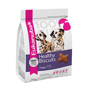 Cheap Eukanuba Healthy Biscuits Puppy 200g