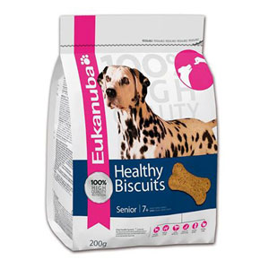 Cheap Eukanuba Healthy Biscuits Senior 200g