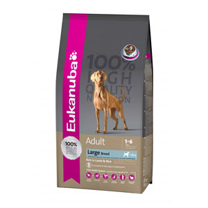 Cheap Eukanuba Large Breed Adult Dog Lamb & Rice 2.5kg