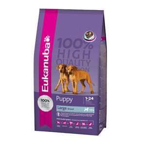Cheap Eukanuba Large Breed Puppy Chicken 3kg
