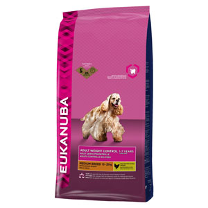 Cheap Eukanuba Medium Breed Adult Dog Weight Control 3kg