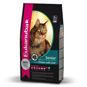 Cheap Eukanuba Senior Cat Chicken & Liver 2kg