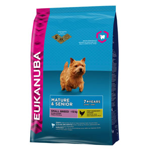 Cheap Eukanuba Small Breed Mature & Senior Dog Chicken 3kg