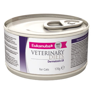 Cheap Eukanuba Veterinary Diets Dermatosis LB For Cats 12 x 170g