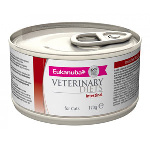 Cheap Eukanuba Veterinary Diets Intestinal For Cats 12 x 170g