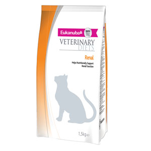 Cheap Eukanuba Veterinary Diets Renal for Cats 1.5kg