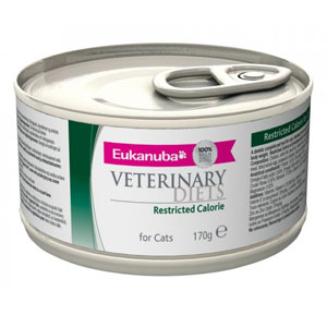 Cheap Eukanuba Veterinary Diets Restricted Calorie for Cats 12 x 170g