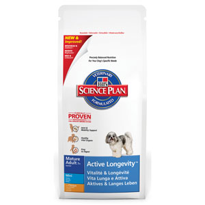 Cheap Hill's Science Plan Active Longevity Adult Mini Chicken 3kg