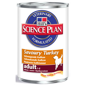 Cheap Hill's Science Plan Advanced Fitness Adult Savoury Turkey 12 x 370g