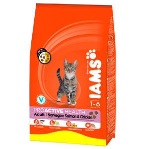 Cheap Iams ProActive Health Adult Salmon & Chicken 1kg