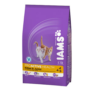 Cheap Iams ProActive Health Kitten & Junior 2.55kg