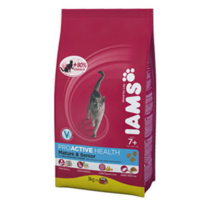 Cheap Iams ProActive Health Mature & Senior Ocean Fish 2.55kg