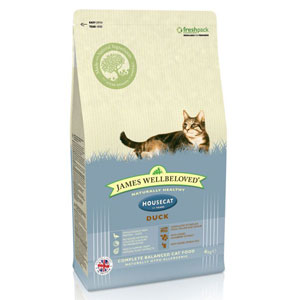 Cheap James Wellbeloved Adult Cat Housecat Duck 1.5kg