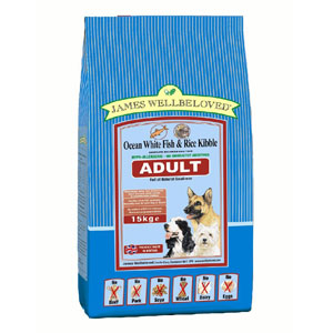 Cheap James Wellbeloved Adult Dog Fish & Rice 7.5kg