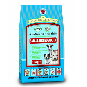 Cheap James Wellbeloved Adult Small Breed Dog Fish & Rice 7.5kg