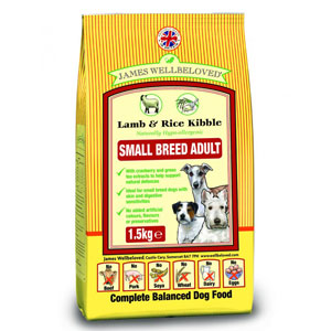 Cheap James Wellbeloved Adult Small Breed Dog Lamb & Rice 1.5kg