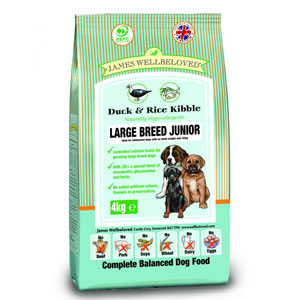 Cheap James Wellbeloved Junior Large Breed Dog Duck & Rice 15kg