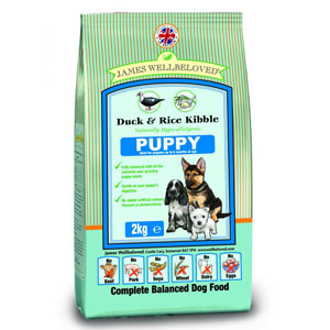 Cheap James Wellbeloved Puppy Duck & Rice 2kg