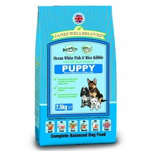 Cheap James Wellbeloved Puppy Fish & Rice 7.5kg