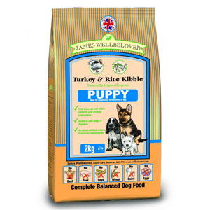 Cheap James Wellbeloved Puppy Turkey & Rice 15kg