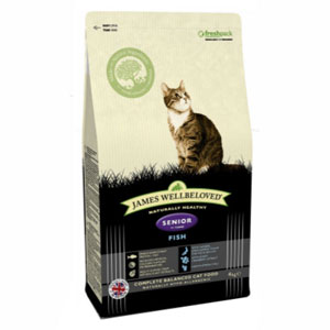 Cheap James Wellbeloved Senior Cat Fish 1.5kg