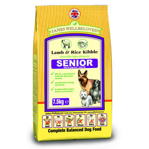 Cheap James Wellbeloved Senior Dog Lamb & Rice 2kg